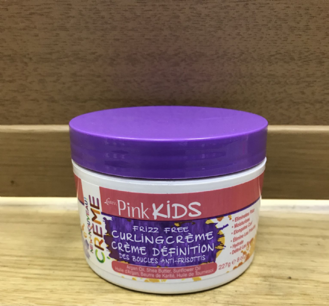 LUSTER'S PINK KIDS  FRIZZ FREE CURLING CREME - 227g